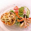 料理メニュー写真蟹のベネチア風サラダ