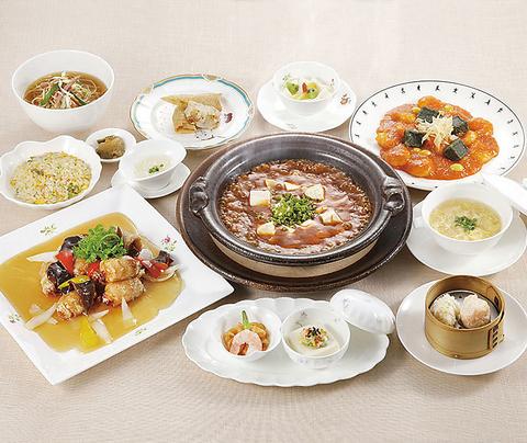笹百合コース〜ささゆり〜 土鍋麻婆豆腐中心のコース