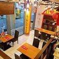 【台湾夜市を思わせる、入りやすく・使いやすいお店♪]台湾の夜市のようなどなたでも入りやすく使いやすい、わくわくするお店をコンセプトにしています。ランチ・女子会・誕生日会・カフェ利用やちょっとした休憩からご宴会・同窓会・忘新年会・二次会まで幅広く対応しております。