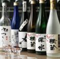 ワインだけでなく、こだわりの日本酒や焼酎もあります。