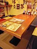 30名までの宴会が可能の店。サークルの打ち上げ等、大勢での宴会に対応できる。