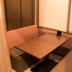 ≪個室≫ソファー席は最大6名様までご利用可能です。完全個室ですので安心快適。