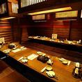 10名様以上の大人数での宴会・飲み会にオススメの団体様でご利用いただける個室席をご用意しております。