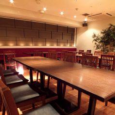 40名様まで可能な宴会スペースも完備
