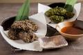 料理メニュー写真もずくの天ぷら・あおさの天ぷら