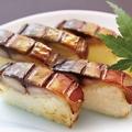 料理メニュー写真焼さば棒寿司(5貫)