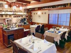 レストランではベネチアの雰囲気を楽しむことができます。You can feel the Venetian atmosphere with us!