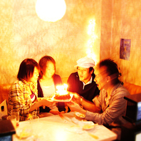 誕生日・デート・二次会など多様なシーンに対応致します