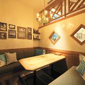 プライベート空間を演出する個室。
