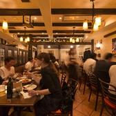 【各種テーブル席】おしゃれな店内は様々なシーンに対応。本格イタリアンとこだわりのワインを心ゆくまでお楽しみください。ヴァンドームとなり