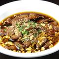 料理メニュー写真牛肉と黒胡椒の鉄板焼き/牛肉とオイスターソース炒め/四川風牛肉煮込