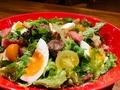 料理メニュー写真リヨン風サラダ