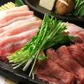 【贅沢食べ放題】六白黒豚しゃぶしゃぶと逸品料理全30種が¥3300で食べ放題!