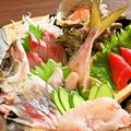 料理メニュー写真新鮮活魚のお刺身盛り合わせ(2~3人前)