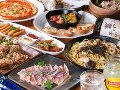 foods bar ZiNの写真