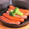料理メニュー写真ソーセージ盛5種