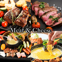 お肉やチーズのビアガーデンコースが人気!500円オフ有