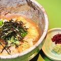 料理メニュー写真海苔茶漬け/鮭茶漬け/明太子茶漬け/梅茶漬け/鯛茶漬け