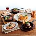 ≪MEAT TABLE≫熱々の肉料理をがっつり食べて、食事も満足!お肉のポテンシャルをいかした美味をご堪能ください★