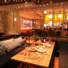 バルバラマーケットプレイス イタリアン食堂 豊洲の雰囲気1