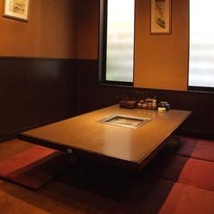 ゆったりとお食事をお楽しみいただける座敷席