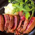 料理メニュー写真十勝牛のサーロインステーキ…100g