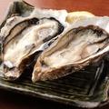 料理メニュー写真厚岸産生牡蠣(1個)