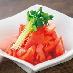 料理メニュー写真ザク切りトマト