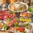 鮮魚はもちろん極上肉や旬のお野菜が楽しめる豪華コースも♪コースは季節ごとにメニュー内容が変更になり、その時期に最も美味しい素材を使用しています!お刺身は日替わりで!旬の時期に合った魚を提供する。それが当店の「こだわり」です。宴会・飲み会・女子会に◎