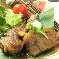 料理メニュー写真国産牛のカットステーキ