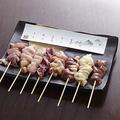 料理メニュー写真阿波尾鶏8本セット