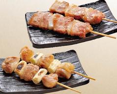 鶏串/豚串