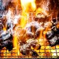 料理メニュー写真赤鶏のもも焼き(1人前)