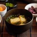 料理メニュー写真お味噌汁