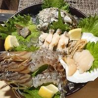 新鮮な海鮮類も豊富にご用意!
