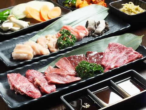 米沢牛やビーフマーブリング10以上(0.05%)の奇跡のお肉をぜひご堪能下さい!!