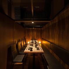 【10名様個室】飲み会・宴会・接待など大人の個室空間を◎
