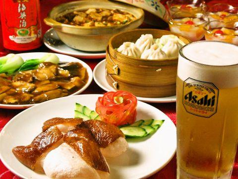 横浜中華街の名店で修業した料理長がお届けする本格中華をお楽しみ下さい!