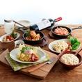 """≪SPECIAL TABLE≫美味しいだけではない、五感を刺激する料理に思わず気分も上がる!特別感たっぷりの""""SPECIAL料理""""を!!"""