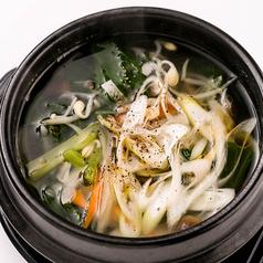 料理メニュー写真野菜スープ
