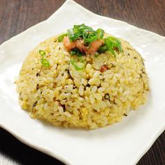 料理メニュー写真高菜焼きチャーハン