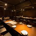 50名様までご対応可能なテーブル個室になります。団体様でのご利用に対応したお席ですので使い勝手◎ご不明点等ございましたらお気軽にお問い合わせ下さいませ♪