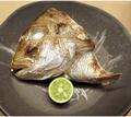 料理メニュー写真真鯛兜の塩焼き