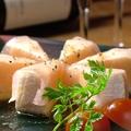料理メニュー写真カマンベールの生ハム巻き