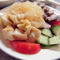 料理メニュー写真冷菜3種盛り