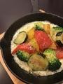 料理メニュー写真たっぷりチーズの彩り野菜