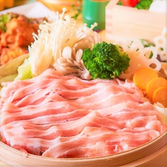 三元豚のハリハリ蒸籠鍋(1人前)