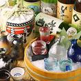 【八州の九州地酒祭り】九州各地の旨い地酒を完全個室でお愉しみください♪プレミアムモルツを含む約60種のドリンク2時間飲み放題プランもご用意!