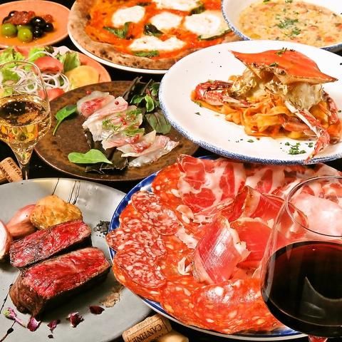 SPECIAL PLAN 2.5H飲み放題付きクラテッロ、ジビエ、最高イタリア食材でフルコース★