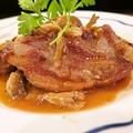 料理メニュー写真牛ヒレ肉のステーキガーリックソース